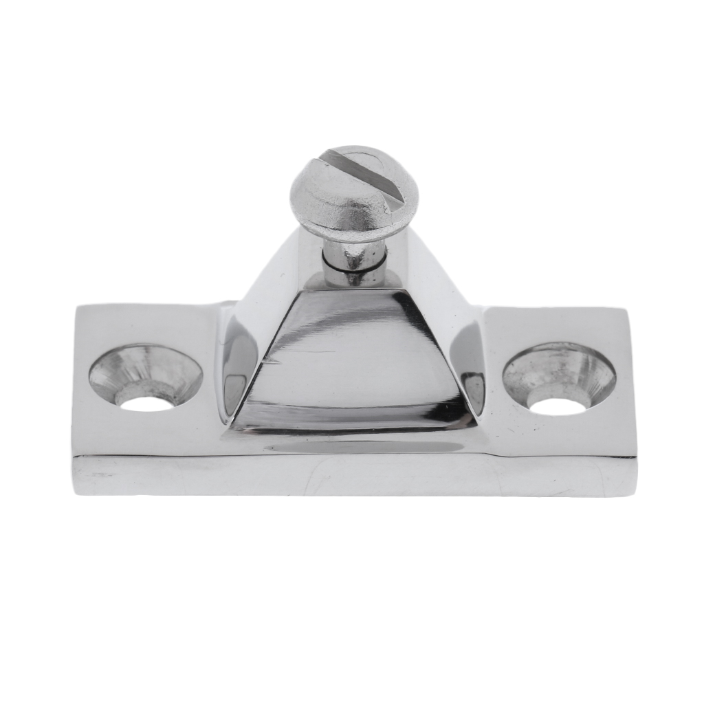 """Image 5 - 1 Pcs Deck Hinge Side Mount 316 Stainless Steel Bimini Boat Top Fitting With 2 Holes 2""""x7/8""""x1"""" Anti Corrosion Boat Accessories-in Marine Hardware from Automobiles & Motorcycles"""