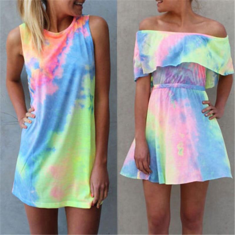 173d3fb404f07 Aliexpress.com : Buy AU Dress Summer Women Ladies Buttons Beach ...