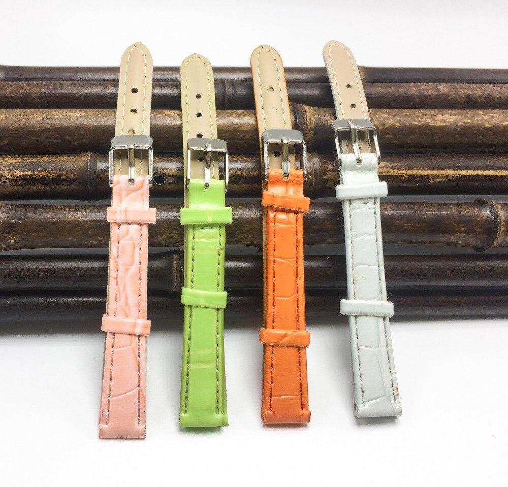 watchbands 12mm watch strap relojes mujer 2017  Female strap 12mm Women bracelet watches 12mm banda reloj HOT SELLING  M003 2017 hot selling relojes band white