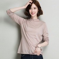 100 Wool Knitted Clothes Sweater For Winter Autumn Women Female Long Sleeve High Quailty Top Grade
