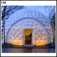 Free shipment white color 6m inflatable dome tent for event\Pray for the holy month of Ramadan