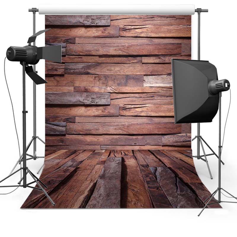 5X7FT Thin vinyl fabric computer Printed photography background wood floor photo backdrops for photo Studio  Floor-645 8 ft x 10 ft vinyl red snowfalkes photography backdrops fabric printing for photo studio wood floor background l 887