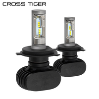 CROSS TIGER S1 12000LM Set LED Car Headlight New Upgrade Light H1 H3 H4 H7 H11