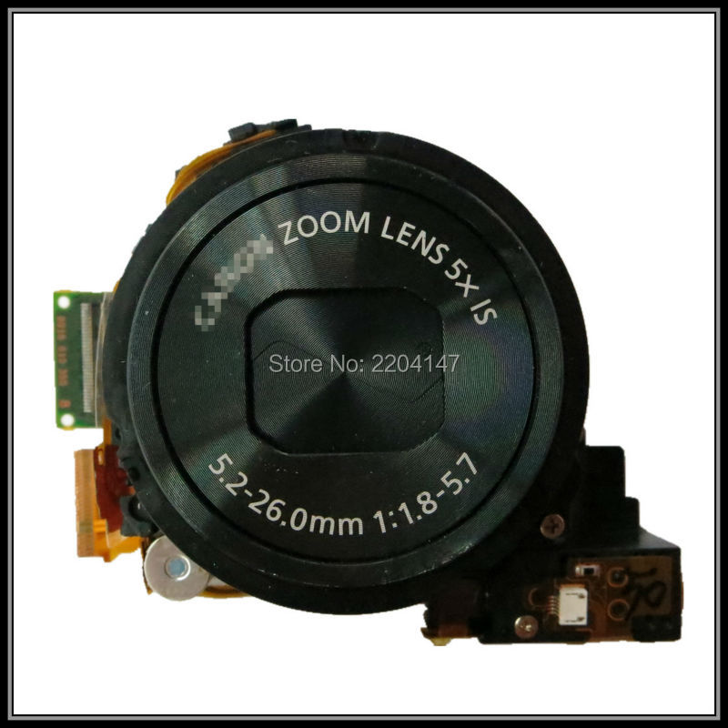 100% Original zoom lens +CCD Repair Part For Canon PowerShot S120;S120 V;S120V;PC2003 Digital camera original digital camera zoom lens accessories for canon ixus130 sd1400 ixy400 is pc1472 ixus 130 with ccd black