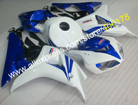 Hot Sales,Body Kit For Honda 2006 2007 CBR1000 06 07 CBR1000RR 2006 2007 Blue White Parts Motorcycle Fairing (Injection molding)