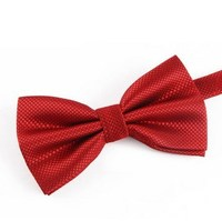 6 Colors Good Quality Plaid Bow Tie Mens Wedding Bridegroom Business Party Office Work Bowtie Groomsmen