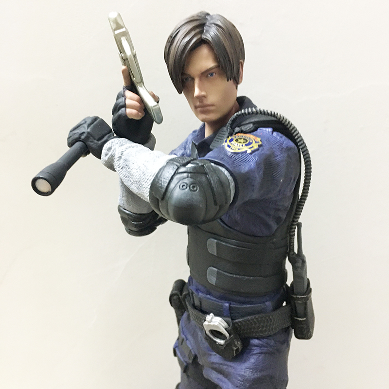 32cm 12 Inch Leon Scott Kennedy PVC Action Figure Model Toy Christmas Gift