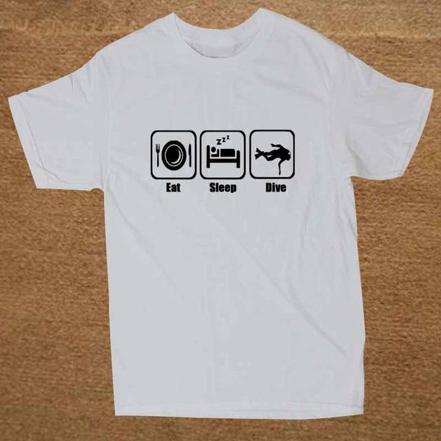 b21fed84dd23d Nouveau plongée sous-marine plongeur adultes blague cadeau T-shirt hommes  drôle T-