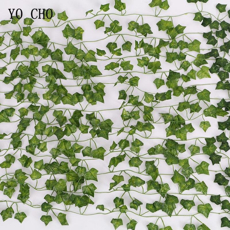 Festive & Party Supplies Artificial Plants Clever Yo Cho 9pcs Artificial Hanging Plants Indoorivy Flower Wall Wedding Home Garden Bar Decoration Green Vine Diy Artificial Rattan