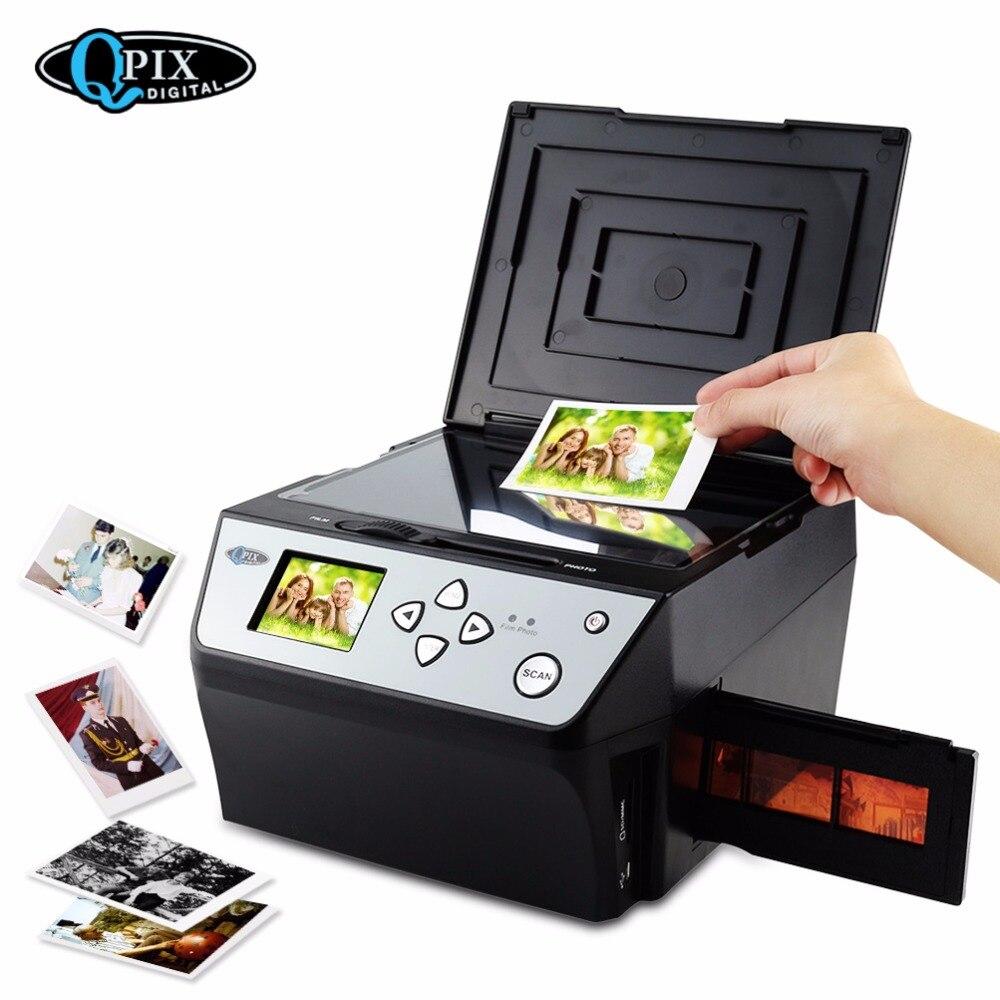 22 Mega Pixels 4 dans 1 COMBO Photo et Numérique scanner de film 135 Négatif Convertisseur Photo 35mm scanner de film scanner de cartes D'affaires