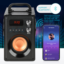 20W Big Power Bluetooth Speaker Portable Wireless Stereo Bass Subwoofer Speakers Support Remote Control FM Radio TF AUX outdoor high power wireless bluetooth speaker portable charging cannon bass subwoofer for dust proof tf card fm radio speakers