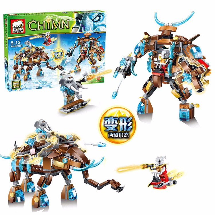 JX70004 Chimo Remote Antiquity Mammoth Model Building Blocks Toys Children Minifigures Compatible Legoe - Block store