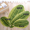 Southeast Asian Style Banana Leaf Pattern Creative Carpet Living Room Coffee Table Mats Ottomans Absorbent Bed