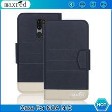цена 5 Colors ! NOA N10 Case 2019 High Quality Flip Ultra-thin Luxury Leather Protective Case For NOA N10 Cover Phone онлайн в 2017 году