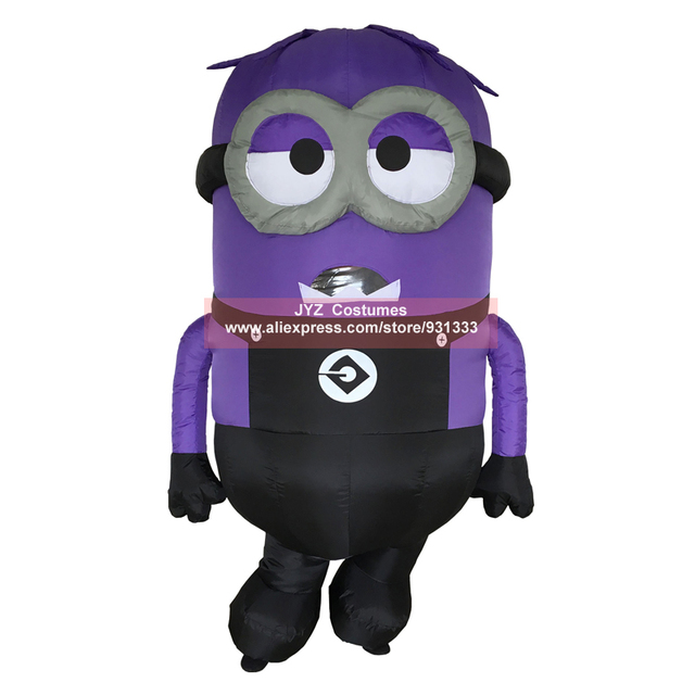JYZCOS Inflatable Minion Halloween Costumes for Adult Despicable ...