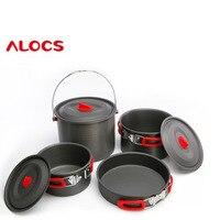 new 5 6 outdoor picnic pot hanging pot pan base set CW RT07