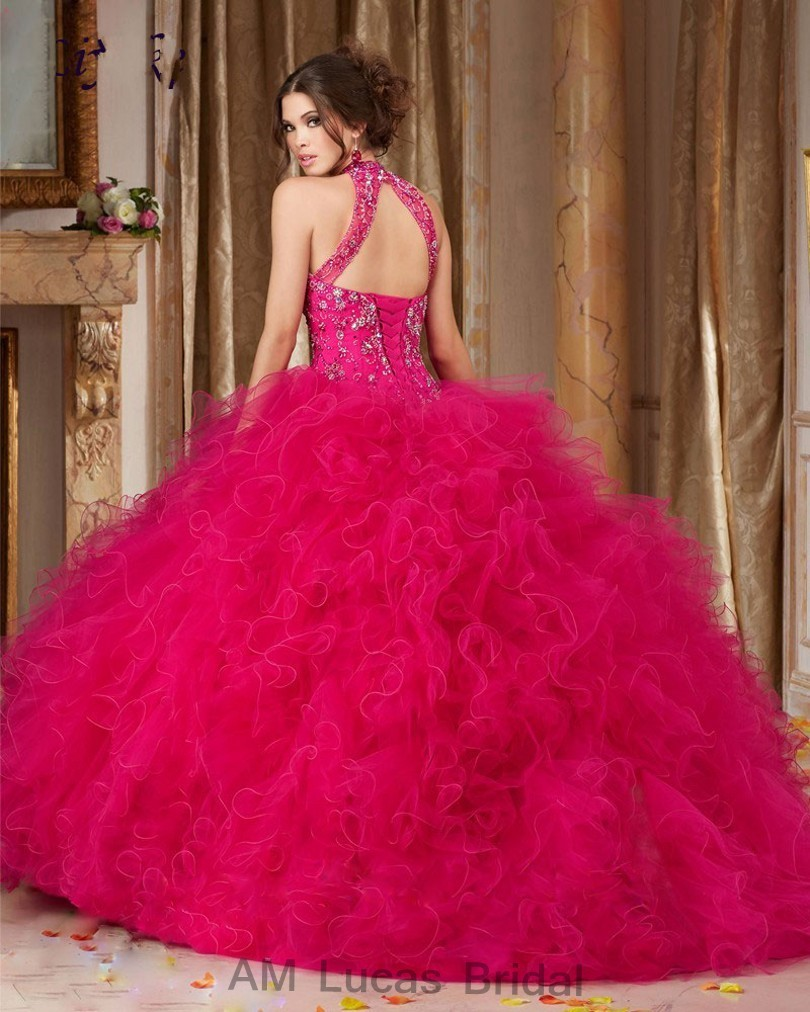 Cheap-Blue-2017-Quinceanera-Dress-Ball-Gown-O-Neck-Beaded-Rhinestones-Long-Sweet-16-Years-Party (1)