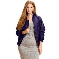Spring Coat Women Preppy Style Fashion Long Sleeve Flower Embroidery Maxi Size Basic Bomber Jacket Plus