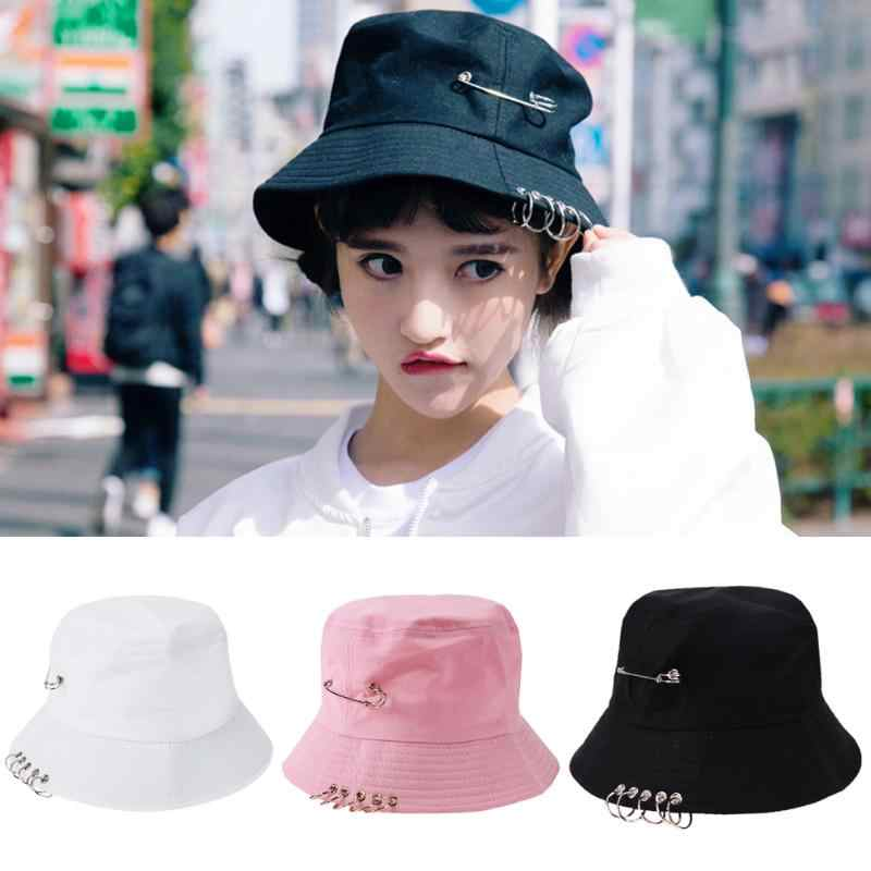 Folding Unisex Iron Ring Outdoor Cap Hat For Hunting Fishing Fisherman Summer Autumn Fashion Cool Bucket Hat HOT SALE