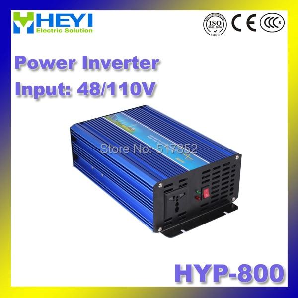 HYP-800 Power inverter 48V/110V input 800W Micro Inverter Efficiency: > 90% Pure Sine Wave Inverter 50/60Hz 48v 110v hyp 6000 50 60hz dc to ac power inverter soft start power inverter low work noise sine wave inverter