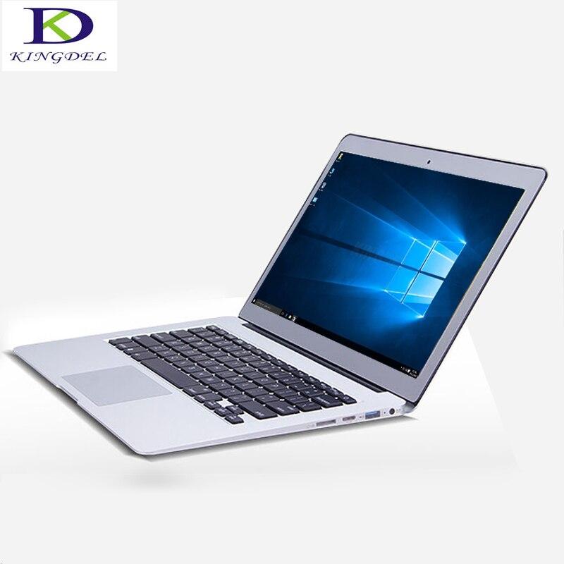 Kingdel Newest Core i3 5005U CPU 13.3 Inch Backlit Keyboard Ultrabook Laptop Computer max 8GB RAM 512G SSD Webcam Wifi Bluetooth