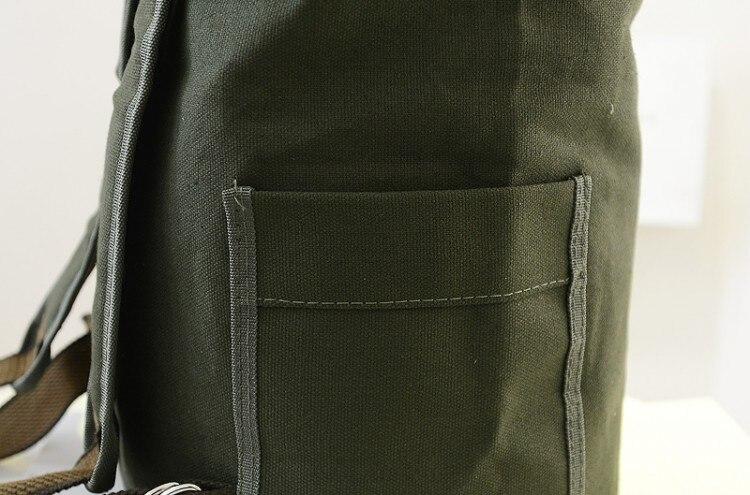 RTATD Large Capacity Man Travel Backpack Canvas Bucket Men Bags High Capacity Sting Men Shoulder Bag C159
