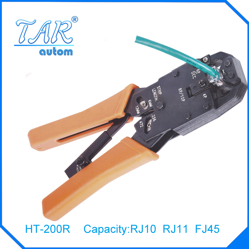 new multi tool r10 rj45 rj11 12 wire cable crimper crimp pc network hand tools in pliers from. Black Bedroom Furniture Sets. Home Design Ideas