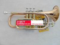 Brand Bach Hot Selling Students B the Cornet Trumpet Instrument Phosphorus copper Brass Gold Lacquer Trompeta