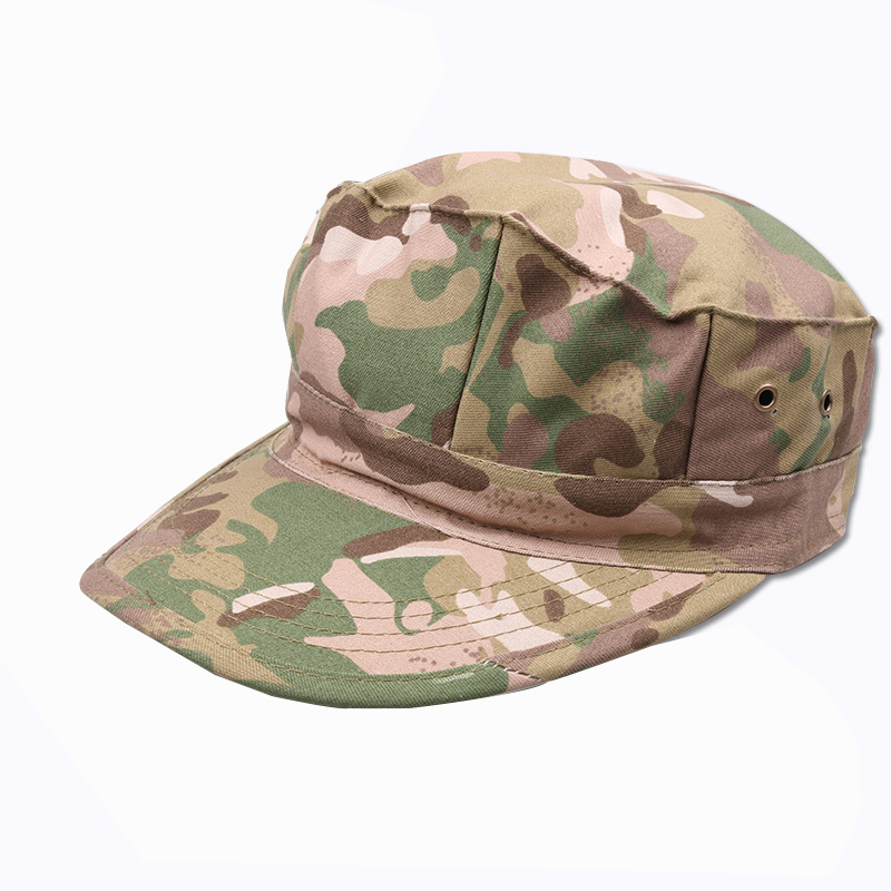 acu camo baseball cap high quality octagonal camouflage tactical hat army font