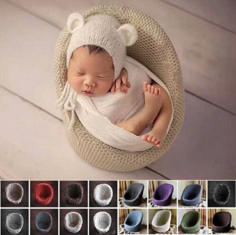 Little Baby Photo Props Newborn Photography Decoration Flokati Basket Accessories Sofa For Studio