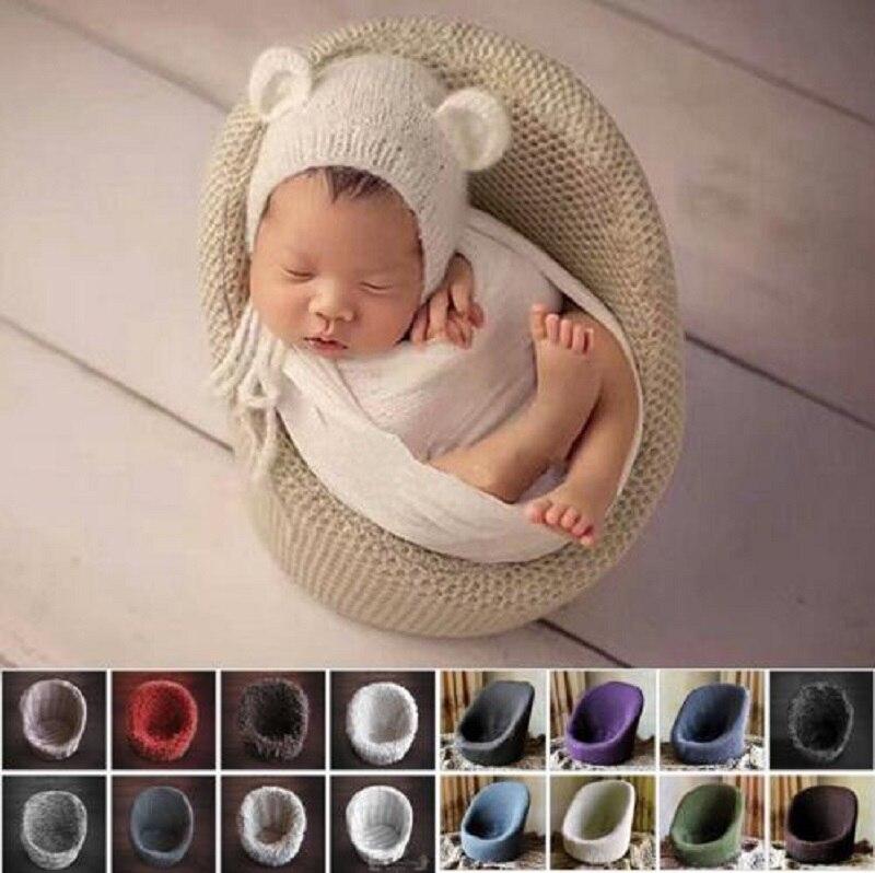 Petit bébé Photo accessoires nouveau-né photographie décoration Flokati panier accessoires canapé pour Studio