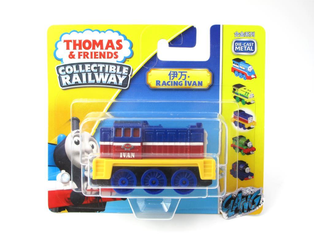 1:64 Diecasts Vehicles Thomas T075N IVAN Thomas And Friends Magnetic Tomas Truck Engine Railway Train Toys for Boys NIB