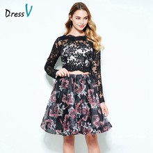 280b0a3991eb4 Graduation Dress Long Sleeves Promotion-Shop for Promotional ...