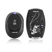Waterproof Black EU Plug-in 220V AC Digital LED 36 Cord Music 100M Range Wireless Remote Control Home Door Bell