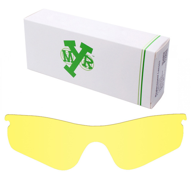 MRY Replacement Lenses for Oakley RadarLock Path Sunglasses HD Yellow