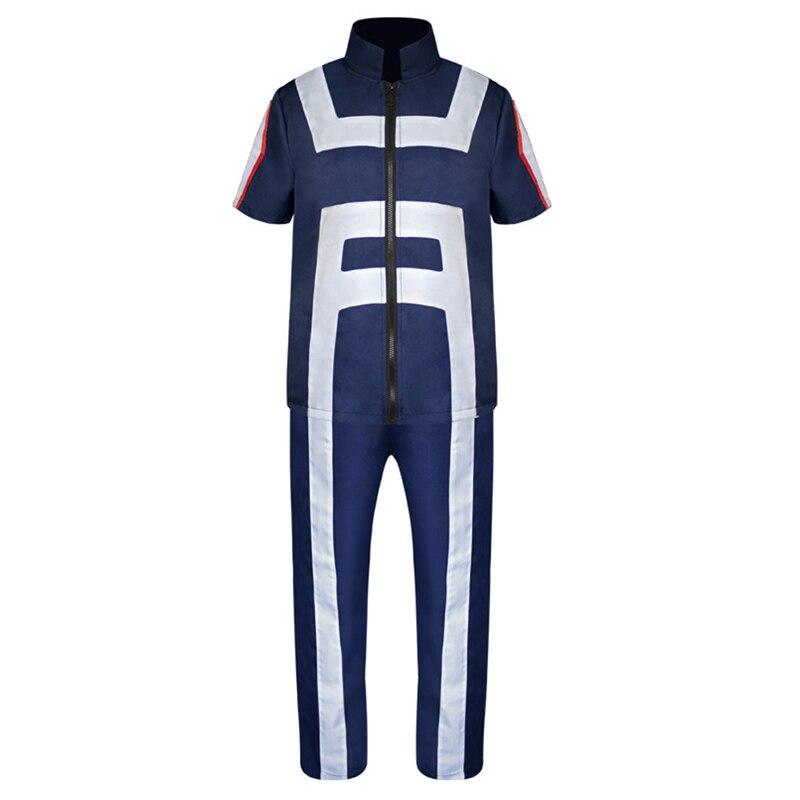 Boku No Hero Academy My Hero Academy все функции Спортивный костюм унисекс форма для средней школы спортивная одежда наряд аниме костюмы для косплея
