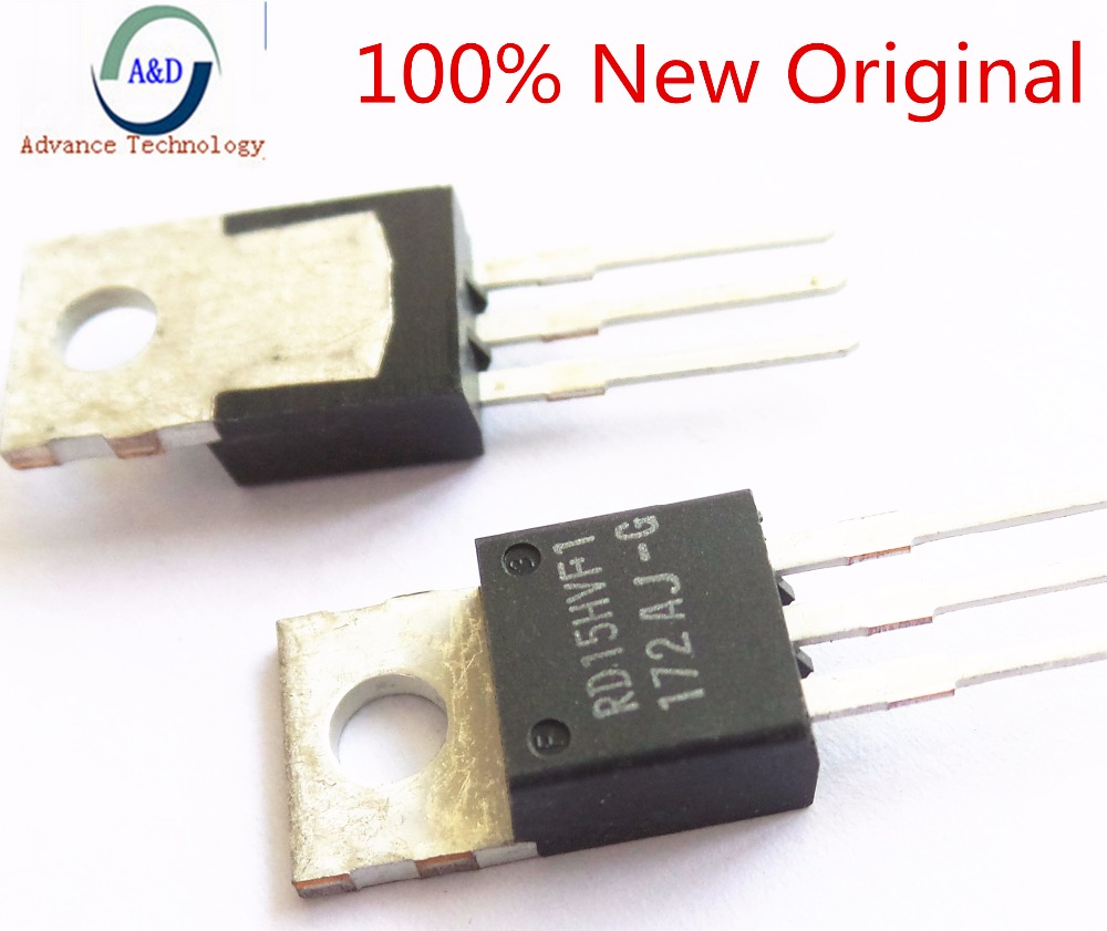 3 5pcs 100% only new original not copy RD15HVF1 MOSFET Power Transistor with trackable tracking number-in Integrated Circuits from Electronic Components & Supplies