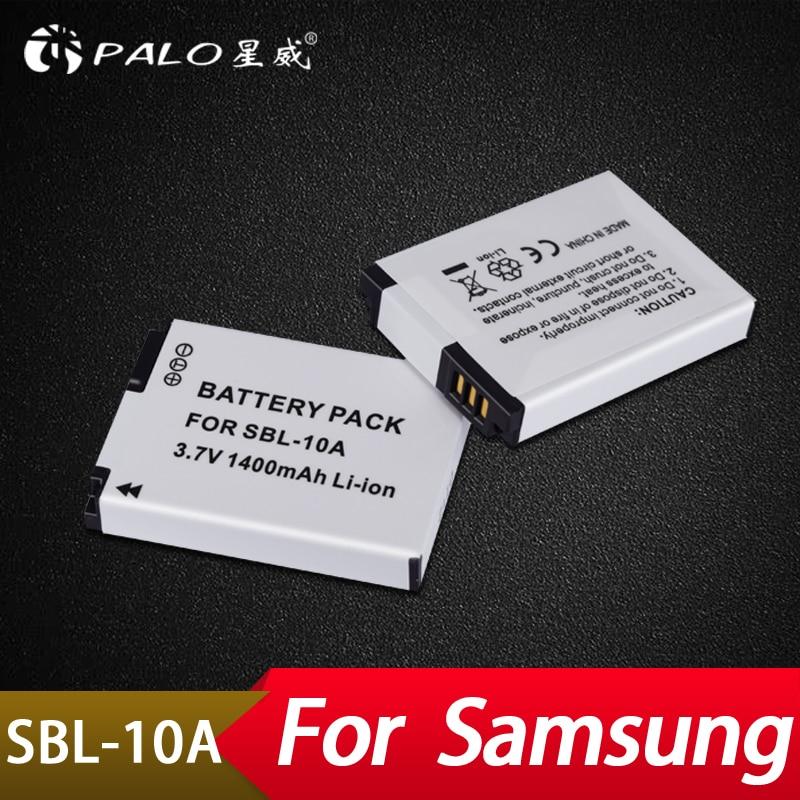 Stromquelle Batterien Palo 2 Pcs 1400 Mah Slb-10a Ersatz Batterie Für Pl50 Pl60 Pl65 P800 Sl820 Wb500 Wb550 Hz10w It100 L100 L110 L200 L210 L310w Mild And Mellow
