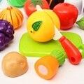 Новый высокое качество 20 шт./компл. кухня фрукты овощи продукты игрушек резки комплект детей притворись ролевая игра подарки моделирование забавные игрушки