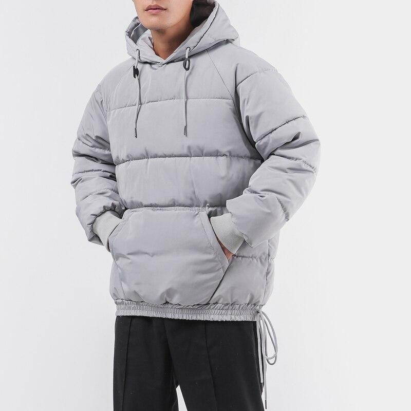 M-4XL 5XL hooded   parka   jacket men thick loose thermal mens winter jackets and coats men   parka   winter jacket
