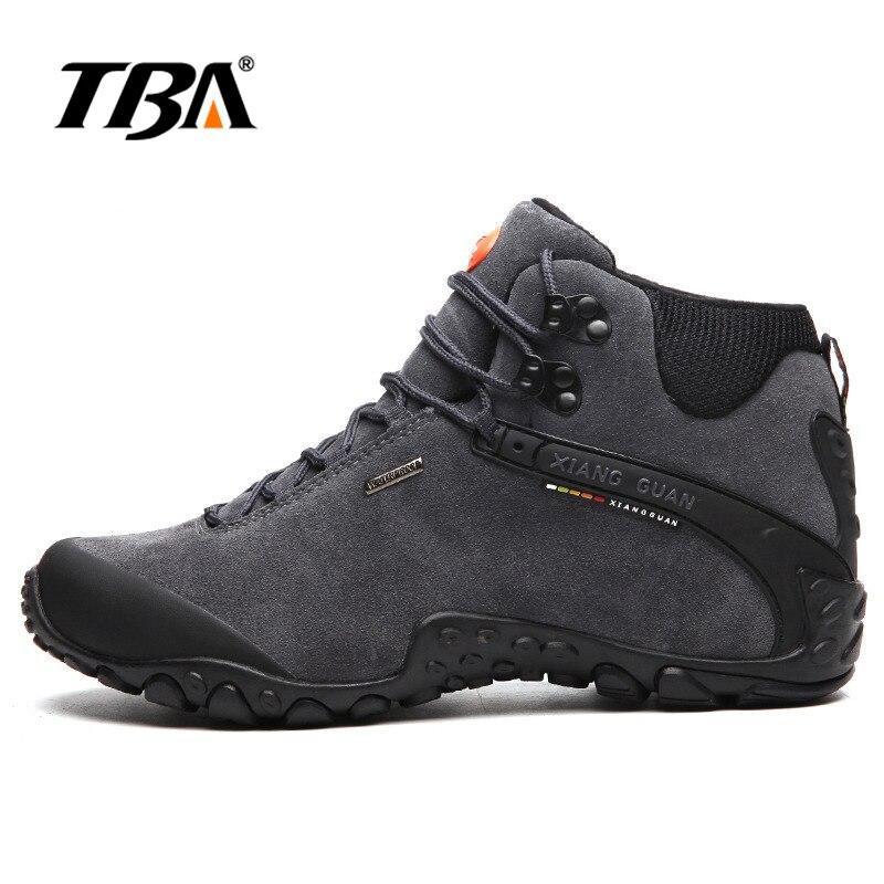 2017 TBA Men Trekking Shoes Women Shoe Waterproof Walking Sneakers Man Outdoor Hunting trail slip resistant Hiking shoes