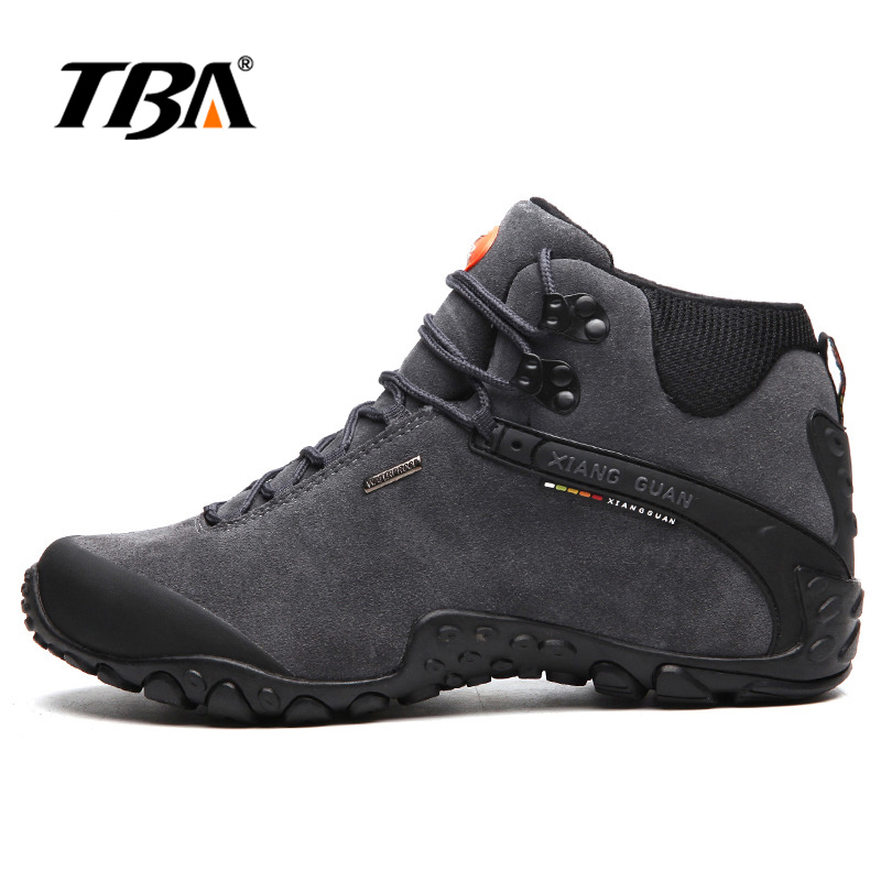 2017 TBA Men Trekking Shoes Women Shoe Waterproof Walking Sneakers Man Outdoor Hunting trail slip resistant Hiking shoes