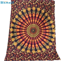 148X210cm Summer Square Cover Up Tapestry Wall Hanging Decor Throw Towel Beach Cover-Ups Beach Towel Serviette De Plage Janu06
