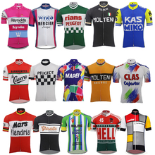 17866cfe2 Men Short sleeve Cycling jersey ropa ciclismo team Cycling clothing Outdoor  sports bike wear jersey MTB