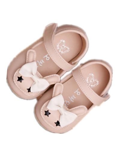 WOW Handmade Fundo Macio DO BEBÊ Moda Bebê Recém-nascido Bebês Menina Sapatos de couro Rosa PU para 0-3 T crianças sapatos 90224