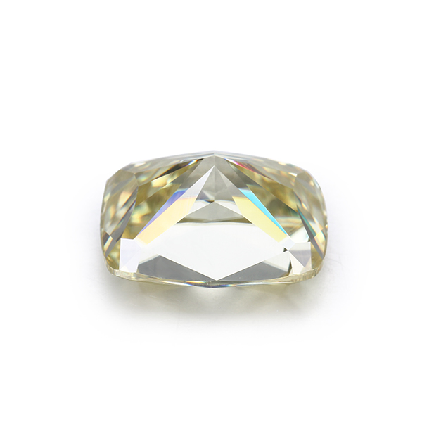 Cheestar Gems 18k Yellow Gold yellow Color moissanites Ring Moissanite Jewelry Engagement Ring For Women gift