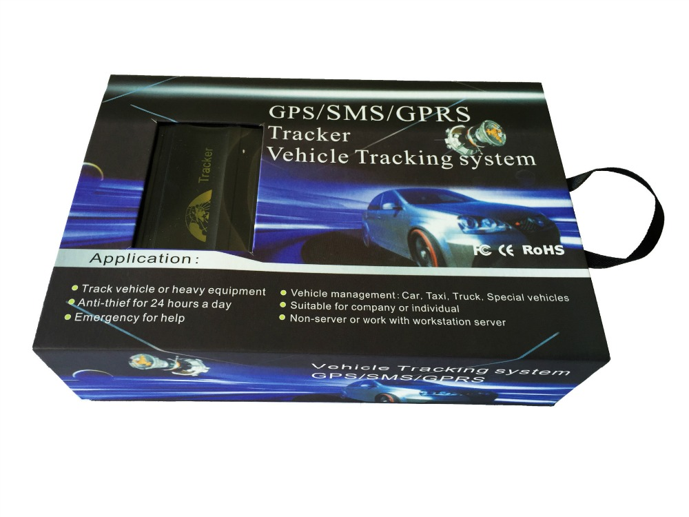 Yuanmingshi автомобиля GPS Real Time Tracker gsm/gprs отслеживания автомобиля GPS трекер + дверь шок Сенсор АКК сигнализации - 5