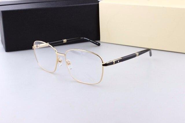 Package mail2017 fashion brand prescription eyeglass frames Golden ...