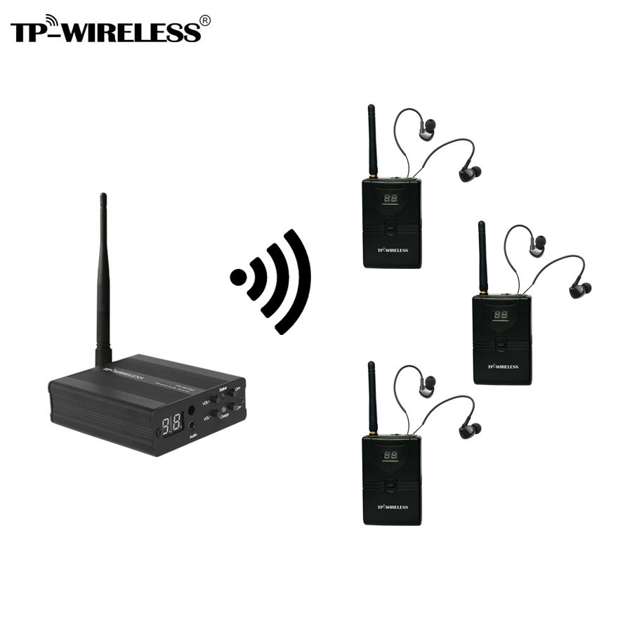 цена на TP-Wireless Monitor System Stage audio Monitor System Wireless In Ear Monitor System 1 transmitter & 3/4/5/10 receivers