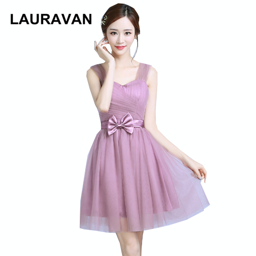 blush girls sweetheart straps elegant   bridesmaid     dress   short tulle ball gowns   dresses   princess for adults wedding guests